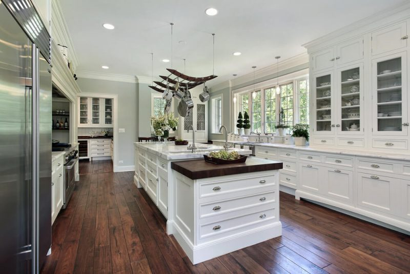 kitchen island layout for neat people