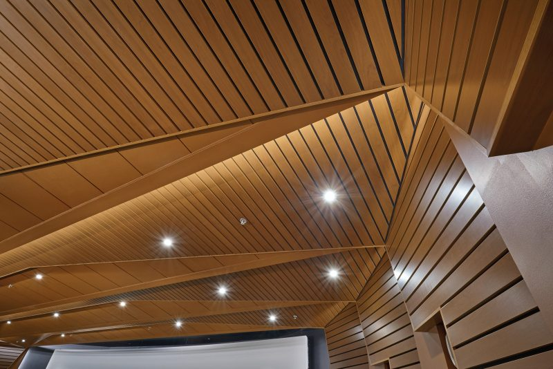 wooden ceiling boards